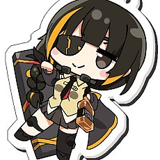 [동인] 소녀전선 SD 아크릴키홀더 - M16A1 (Kutata)